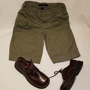 Calvin Klein Army Green Bermuda Shorts